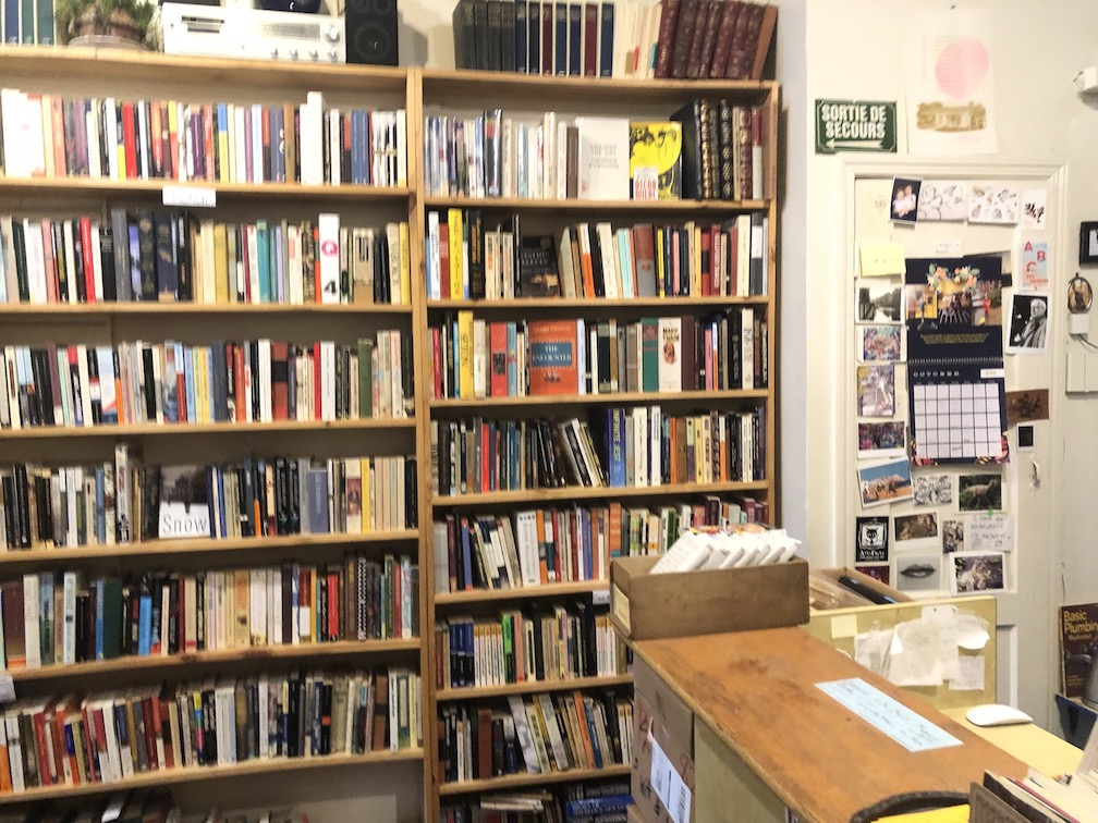 Interior bookstore