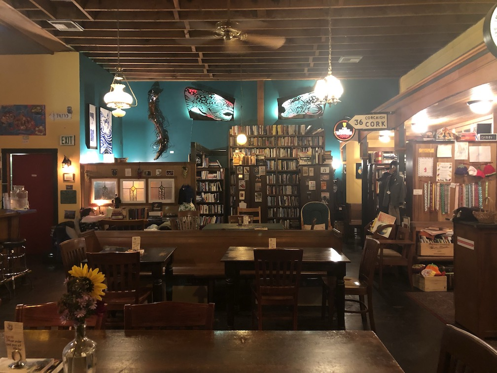Rose City Book Pub interior