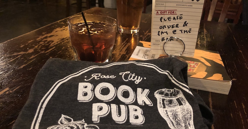 Rose City Book Pub shirt
